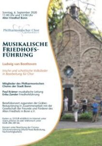 Musiklaische Friedhofsführung 2020
