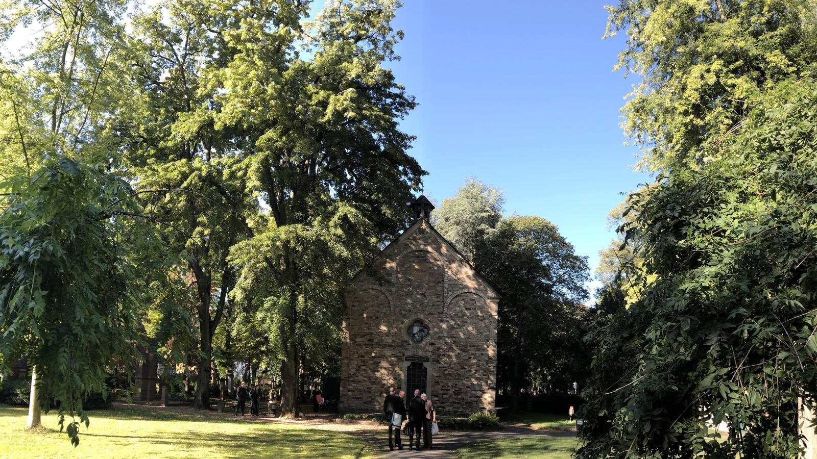 Kapelle auf dem alten Friedhof Bonn